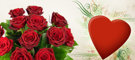 Ordering Online Valentine Flowers Flower Experts Gives You